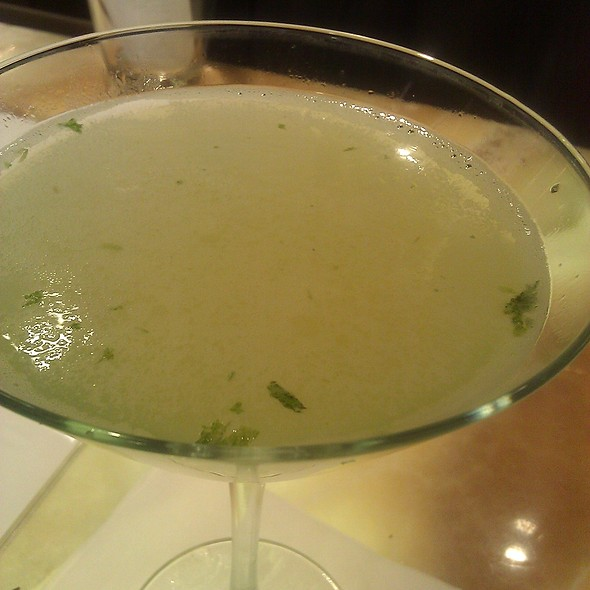 Cucumber Martini @ Cat Cora Kitchen