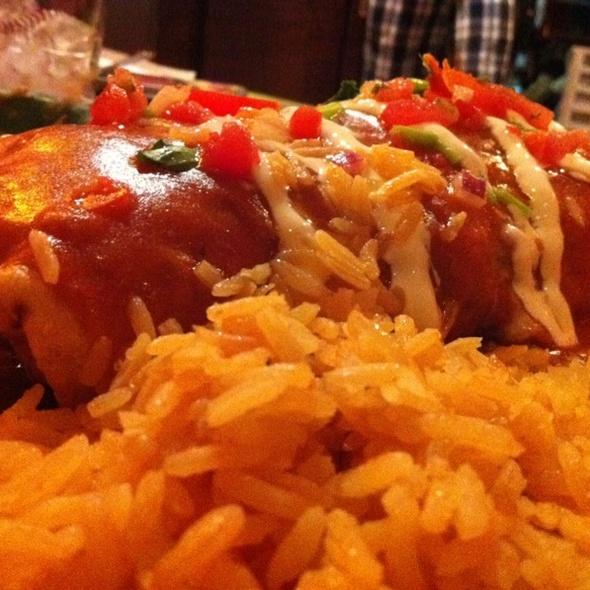 Chicken Chimichanga @ Salsa & Beer
