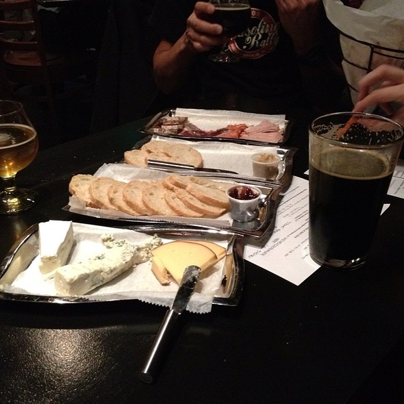 Cheese And Charcutterie Plate @ Black Acre Brewing