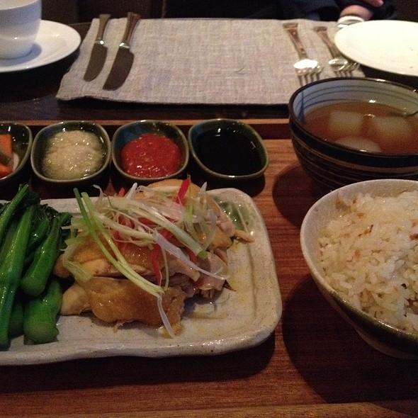 Hainan Chicken Rice @ Four Seasons Hotel Hong Kong