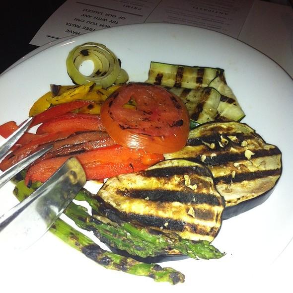 Grilled Vegetables - Tocco Pizza e Arte, Chicago, IL