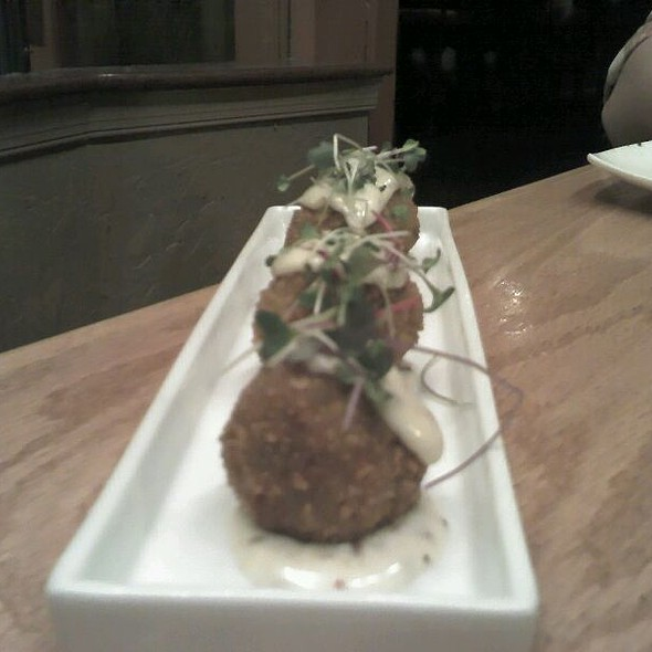 Lump Crab Fritters @ Tapas on Main