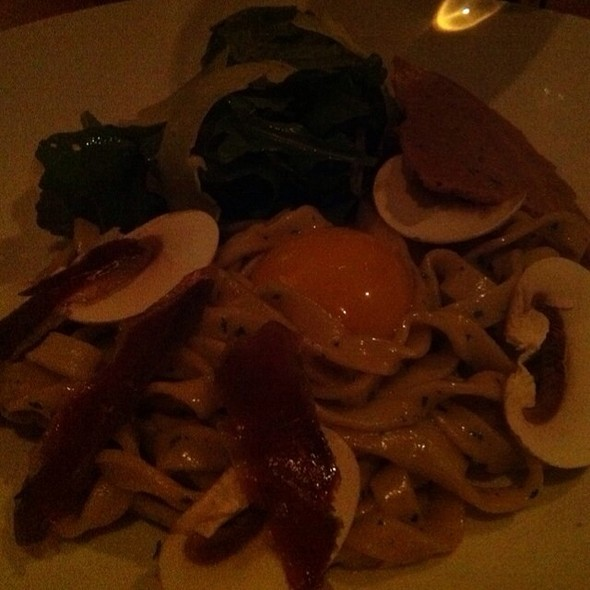 Tagliatelle With Yolk @ Olivia