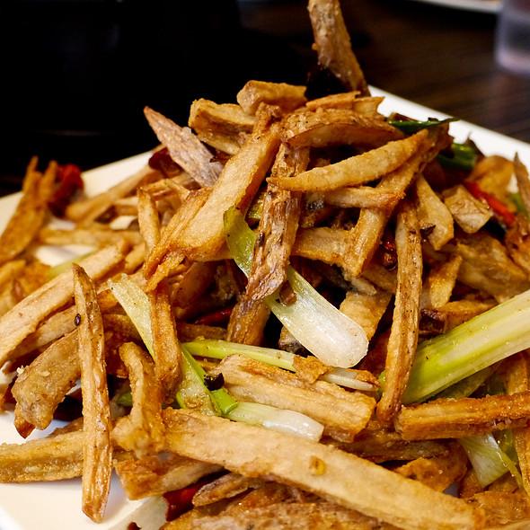 Lotus Root Fries @ Restaurant Kanbai