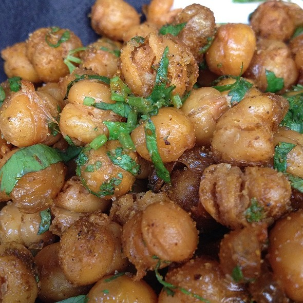 Fried Chickpeas @ Mother's Ruin