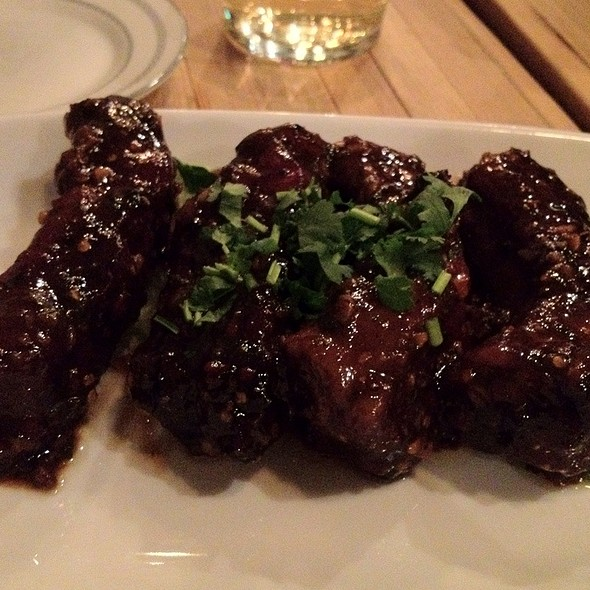 Baby Back Ribs @ Pure Thai Shophouse