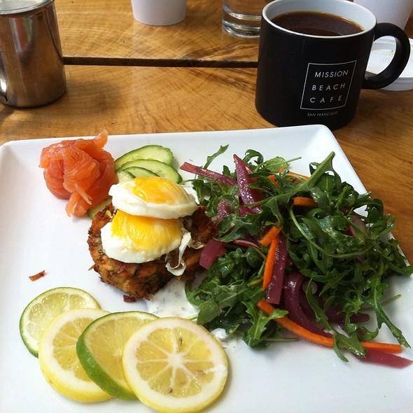 Breakfast @ Mission Beach Cafe