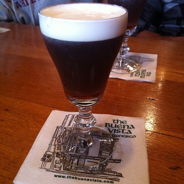 Buena Vista Irish Coffee @ Buena Vista Cafe
