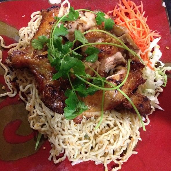 Five Spice Chicken With Garlic Noodles @ Ben Tre Restaurant