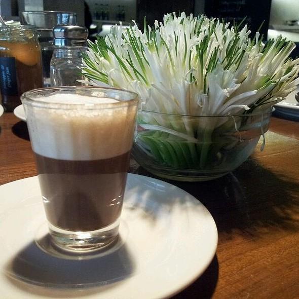 Espresso Macchiato @ Indigo Delicatessen