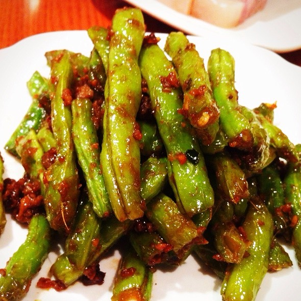 Stir Fried French Bean with Mince Pork in X.O. sauce @ Din Tai Fung, Hong Kong