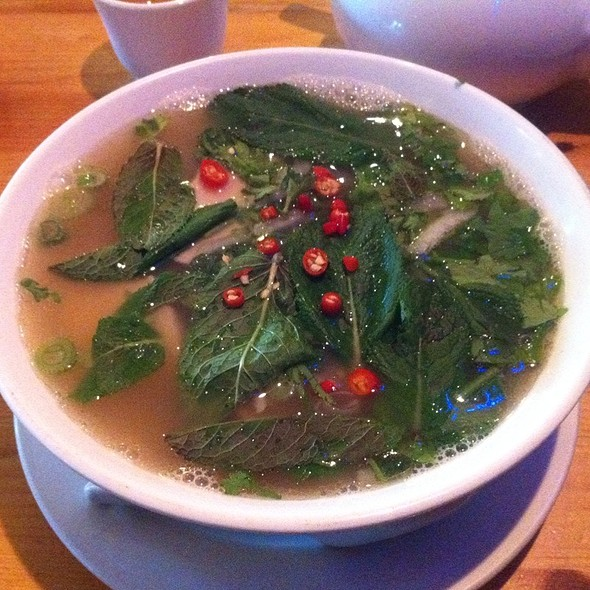 Chicken Pho @ Khoai
