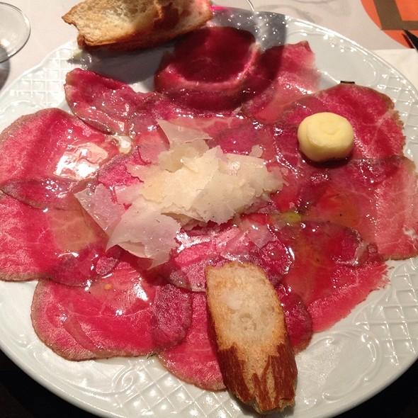 Beef Carpaccio @ La Flauta