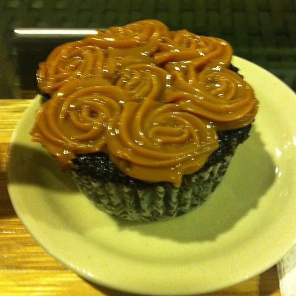 Chocolate Yema Cupcake @ Slice Cafe