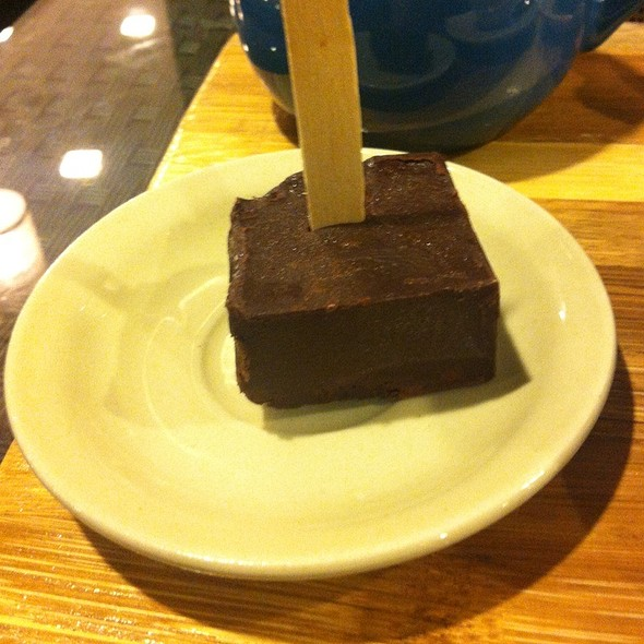 Choco Stirrer @ Slice Cafe