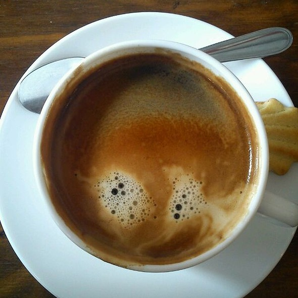 Café Espresso Doble. @ Capri