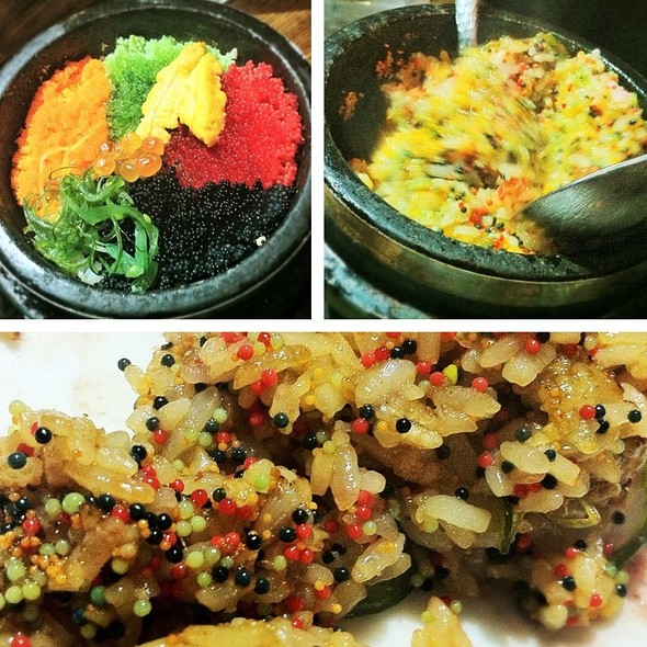 Stone Pot Roe Rice (Sequence) @ LàOn Dining