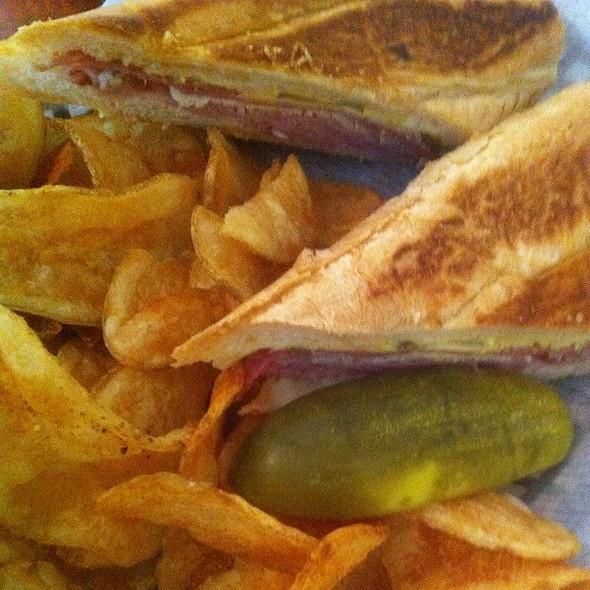 Cuban Sandwich With Homemade Potato Chips