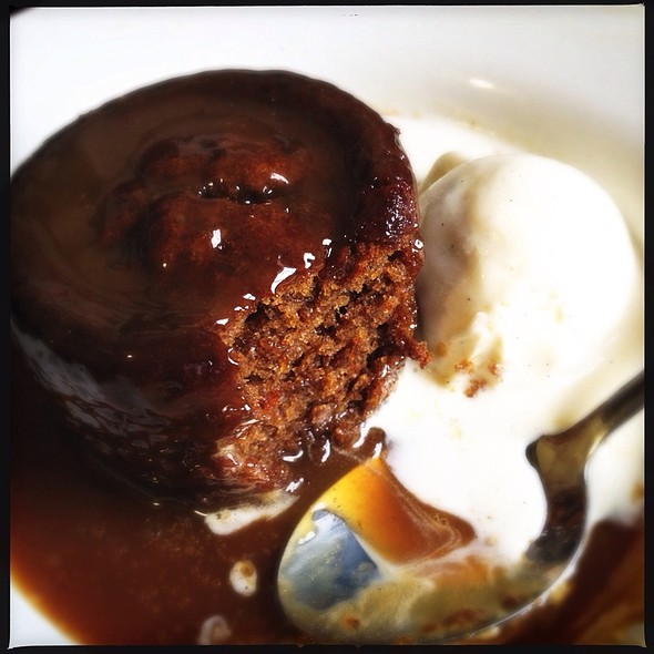 Sticky Toffee Pudding @ The Avalon Public House and Garden