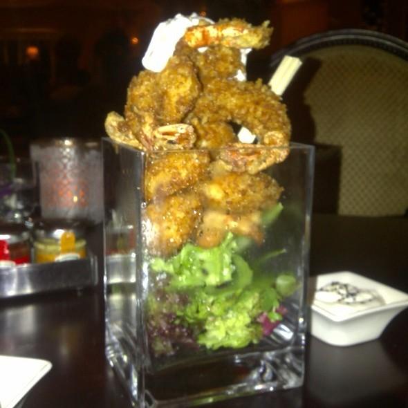 Popcorn shrimp @ Shangri-la Hotel