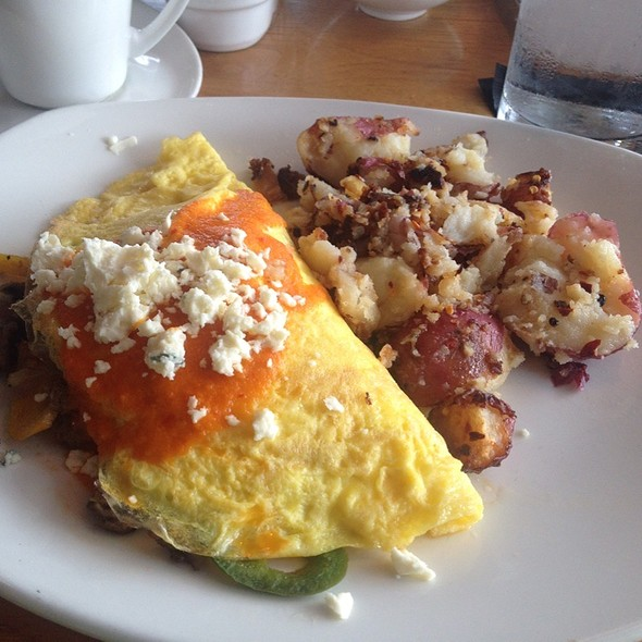 Wild Boar Omelet @ South Congress Cafe