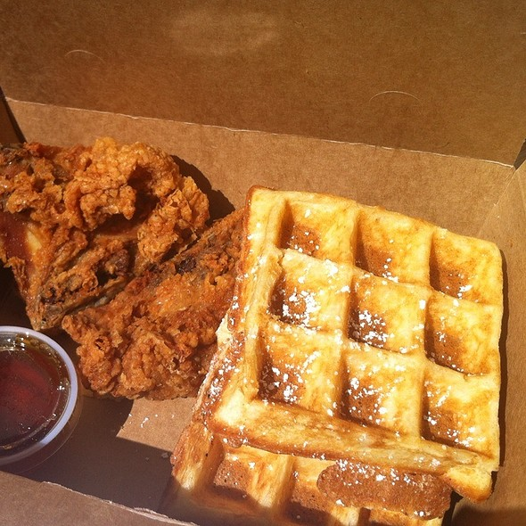 Chicken and Waffles @ Little Skillet
