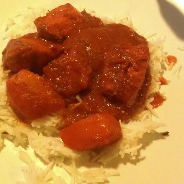 Chicken Vindaloo Curry @ Saffron Indian Bistro