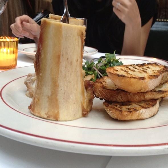 Roasted Beef Bone Marrow - The Waverly Inn, New York, NY