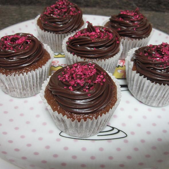 Cupcake de chocolate com ganache de Amarula @ Homemade by Clau