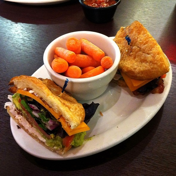California Club Sandwich @ Jason's deli