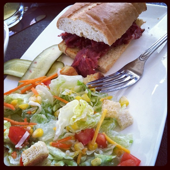 Grilled Pastrami Sandwich @ Yard House Pasadena