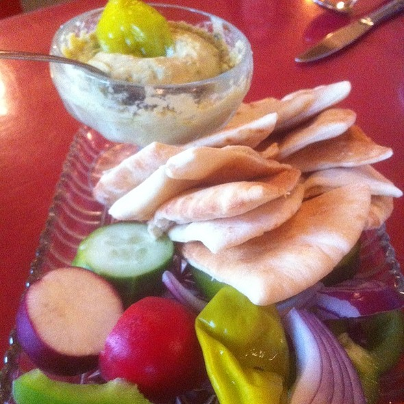 Hummus Appetizer @ Garden Cafe