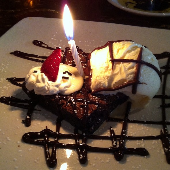 Brownie a la mode - Cafe Murano, Altamonte Springs, FL