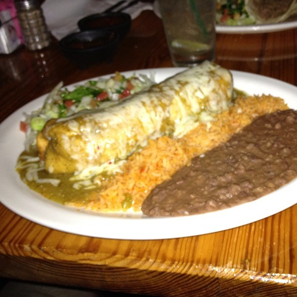 Chimichanga @ Avila's Mexican Restaurant
