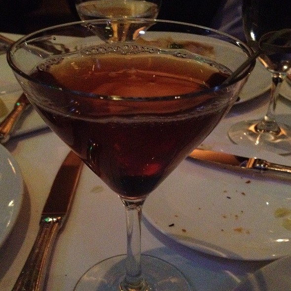 Kate's Manhattan @ L'Espalier