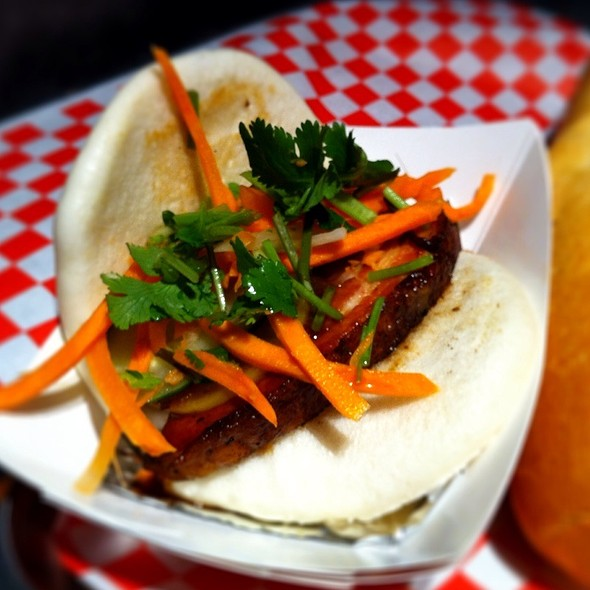 Five Spice Pork Belly Steamed Bao