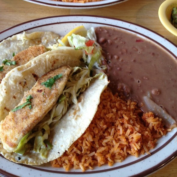 Fish Taco @ Alfonso's Mexican Food