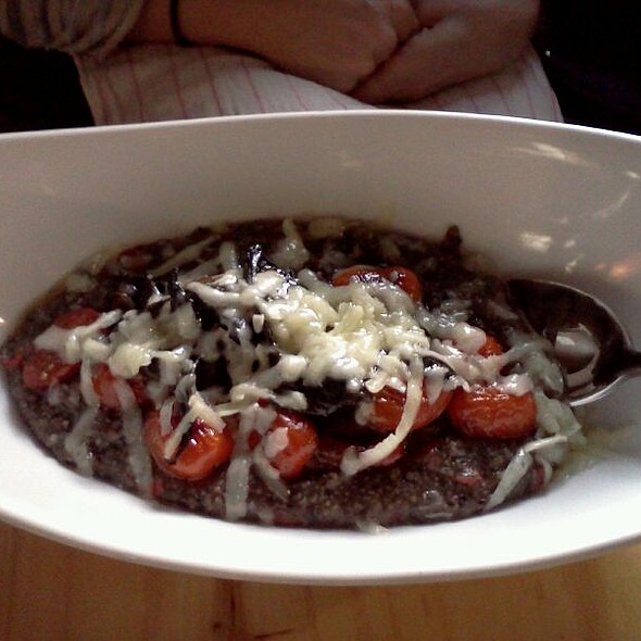 Purple Corn Polenta @ Gilbreth's