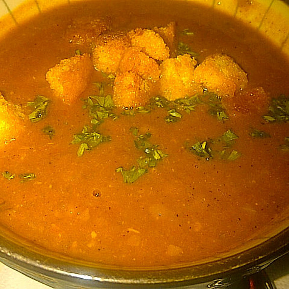 Harira Morrocan Soup - Kous Kous Moroccan Bistro, San Diego, CA