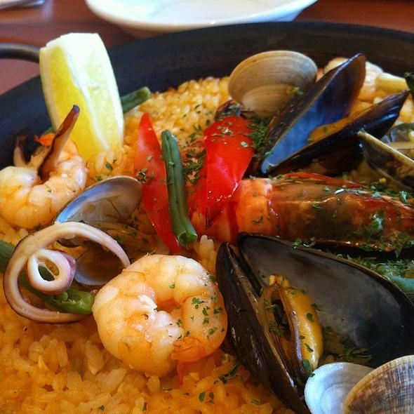 Seafood Paella @ Tapas Blanco