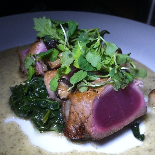 Seared Ahi @ Stage Restaurant