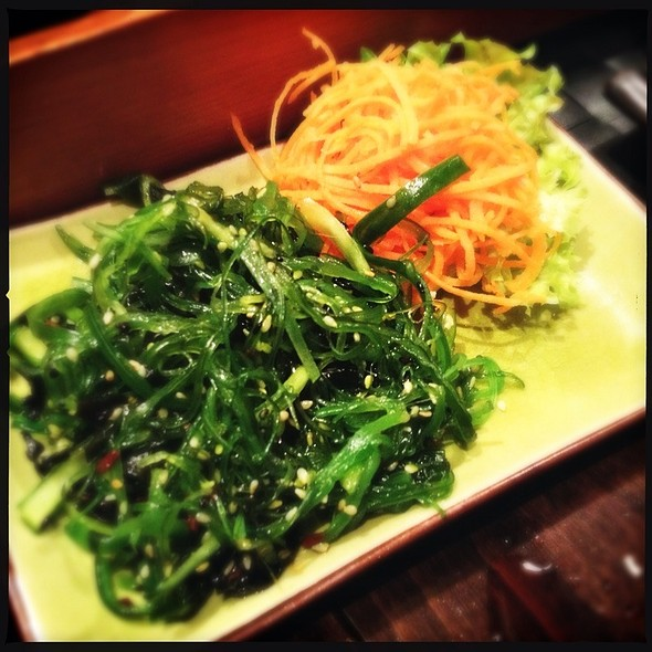 Seaweed salad @ Inari
