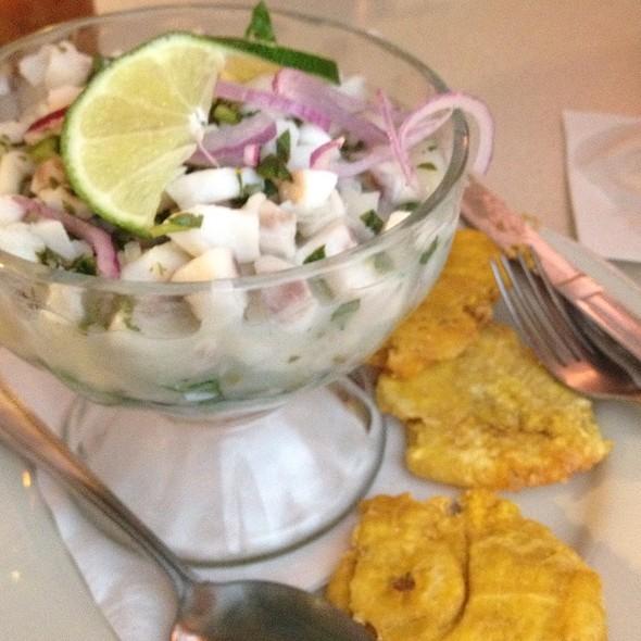 Ceviche @ Casa Colombia