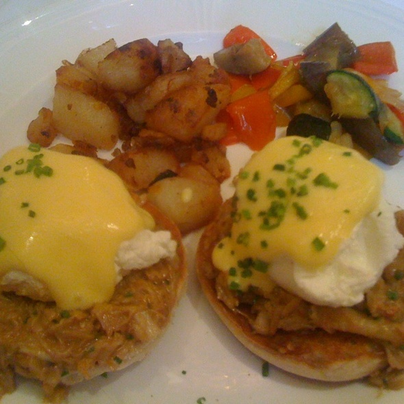 Eggs Benedict With Crab  @ Aquagrill