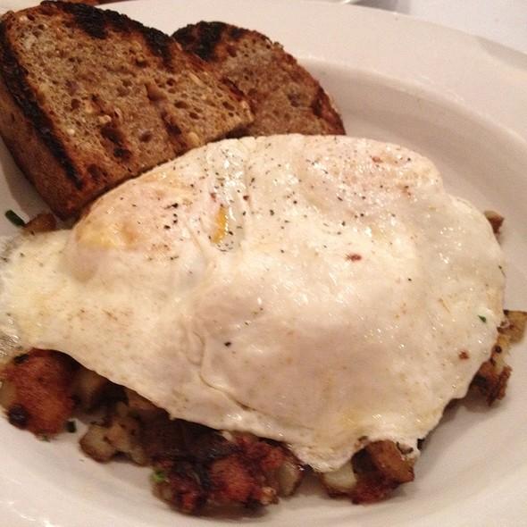 Duck Poutine Hash With Eggs - Grange Kitchen & Bar, Ann Arbor, MI