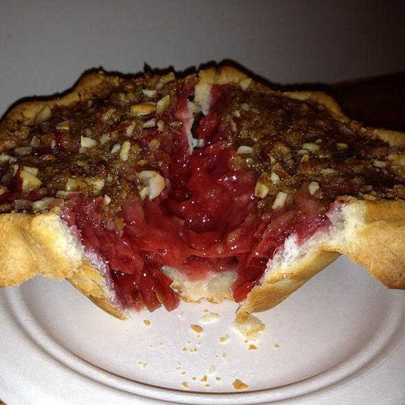 Strawberry Rhubarb Pie (Gluten Free Crust) @ pie