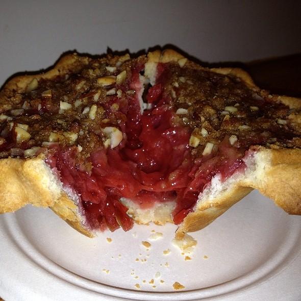 Strawberry Rhubarb Pie (Gluten Free Crust) @ pie