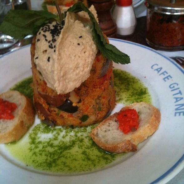 Couscous And Hummus @ Cafe Gitane