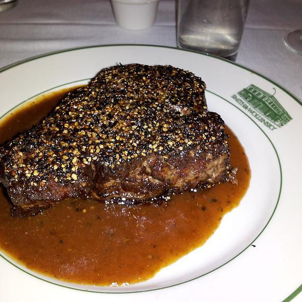 Steak Au Poivre @ Smith & Wollensky