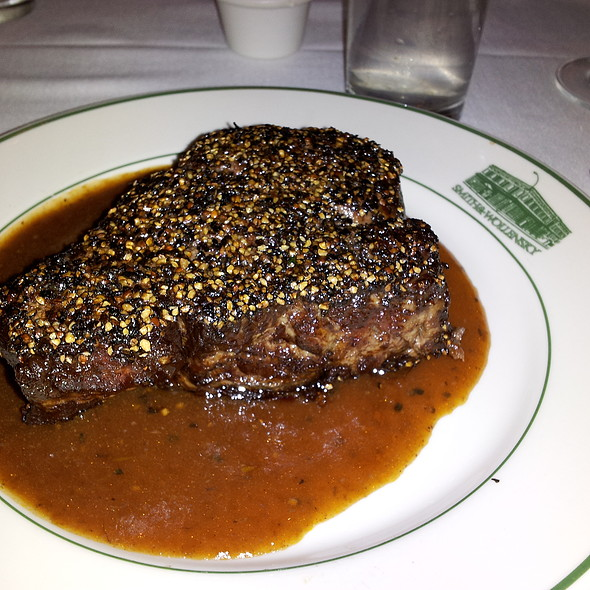 Steak Au Poivre @ Smith & Wollensky